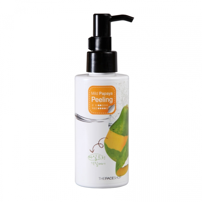 Пилинг-скатка с экстрактом папайи The Face Shop Smart Peeling Mild Papaya Peeling