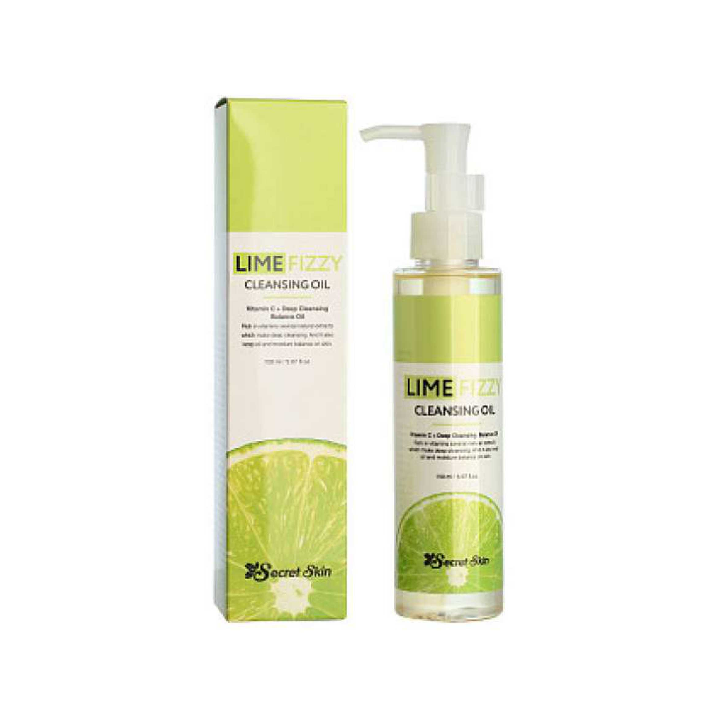 Масло гидрофильное SECRETSKIN LIME FIZZY CLEANSING OIL
